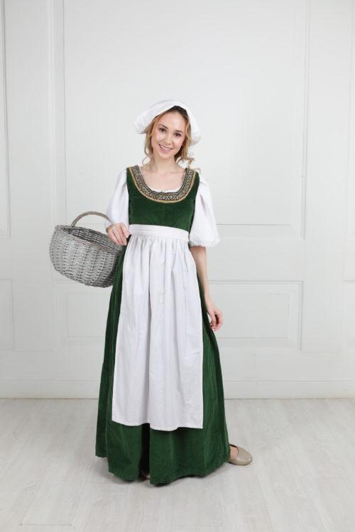 Платье в стиле средневековья 14 век