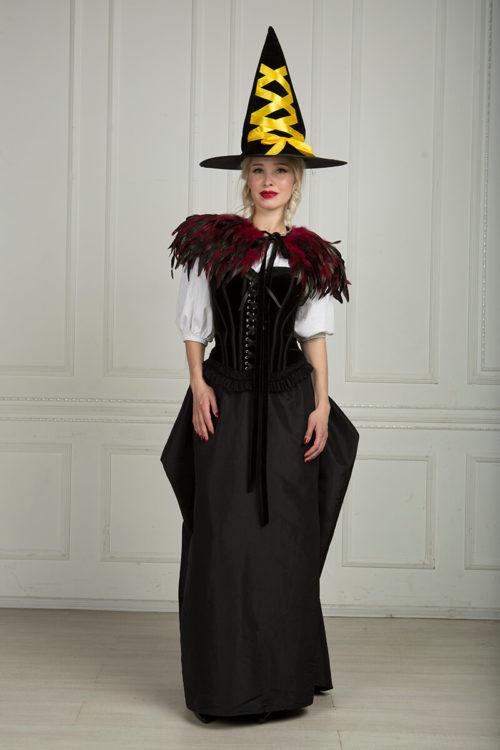 Готическая ведьма костюм