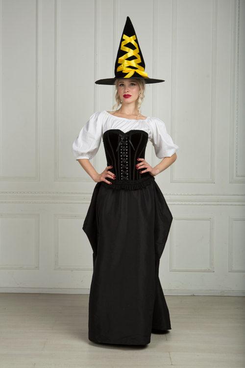 Готическая ведьма костюм аренда