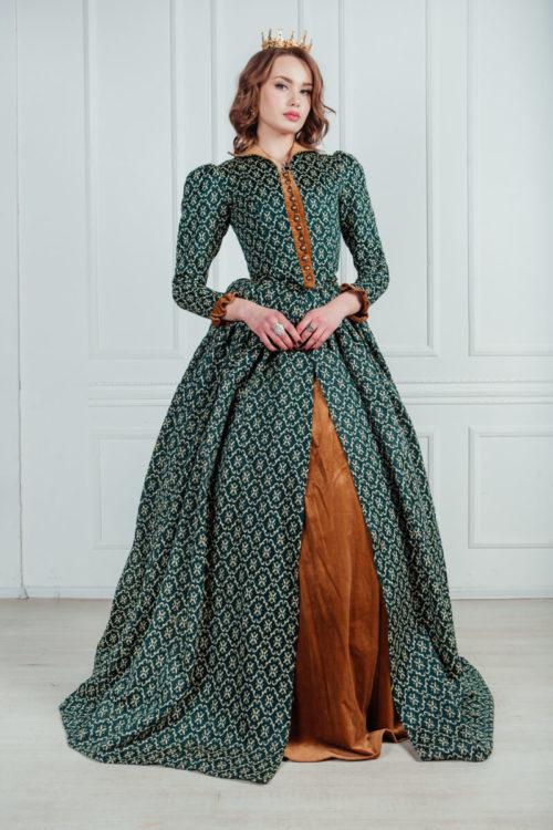 платье в стиле ренессанс
