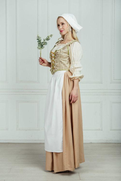 костюм молочницы 18 века