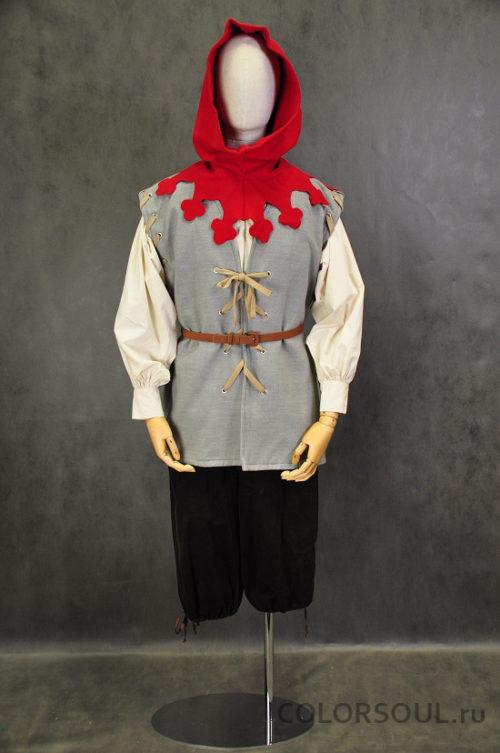 костюм простолюдина