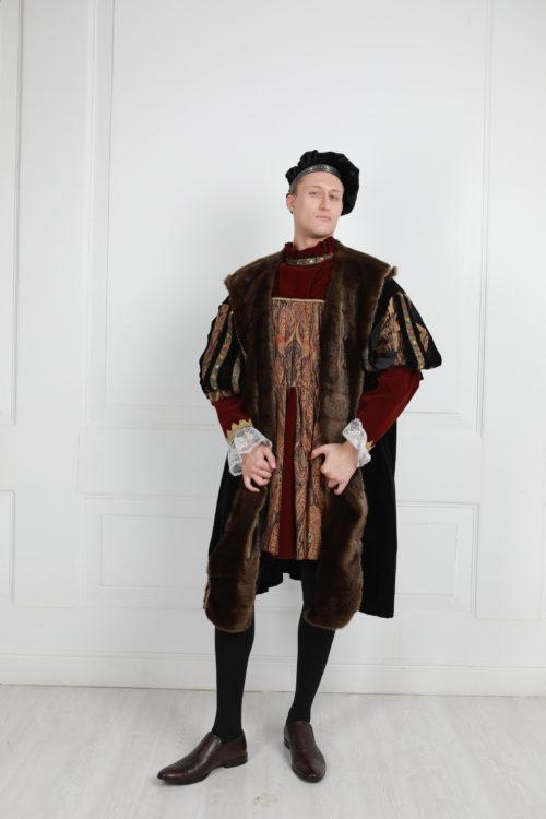 Мужской костюм 16 века Генрих VIII