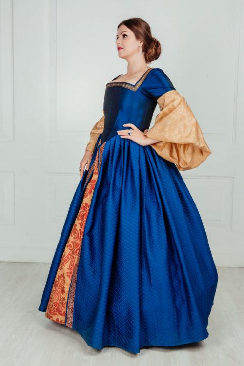 бальные платья 16 века