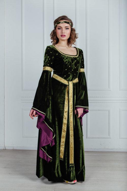средневековые платья прокат костюмов москва