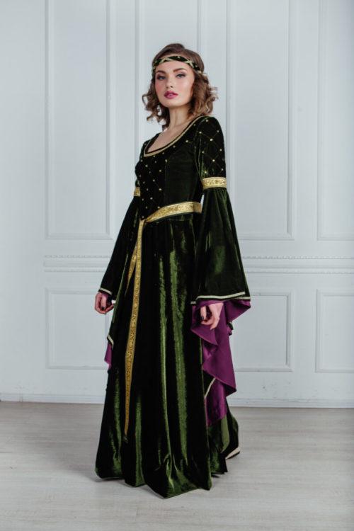 красивые средневековые платья