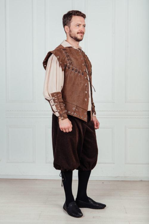 , костюм горожанина 16 век прокат