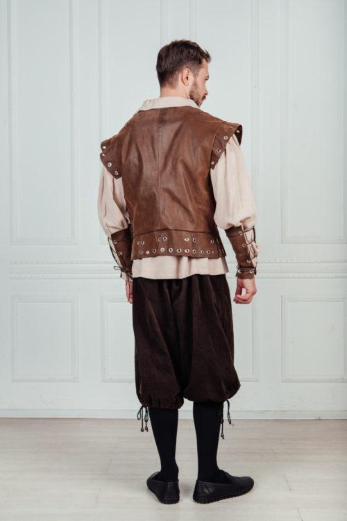 костюм горожанина 16 век