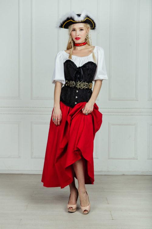 Девушка пиратка костюм