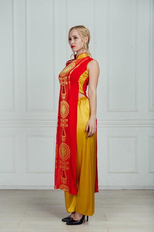 вьетнамское платье