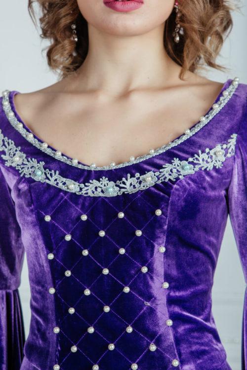 Женское платье Средневековья