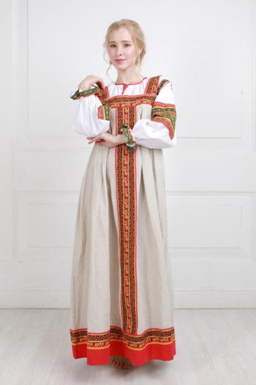 Барышня крестьянка костюм