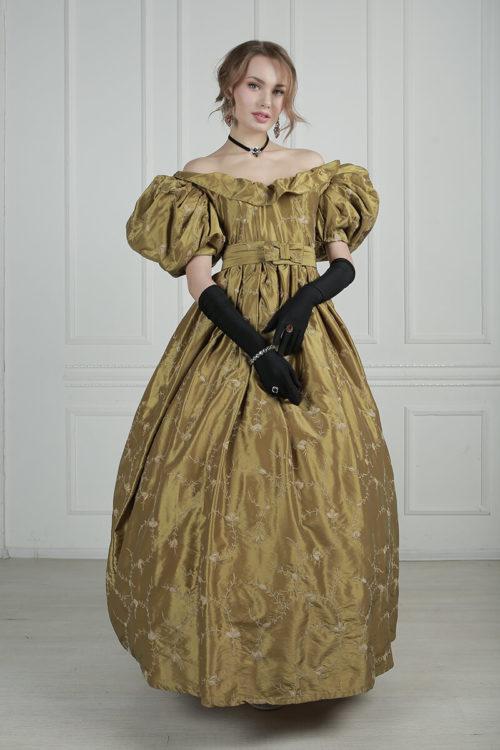 Платье для бала 19 века прокат