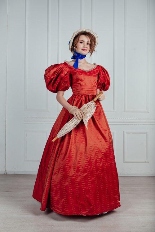 платья 19 века аренда