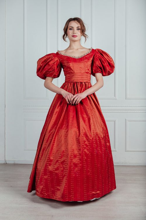 платья 19 века напрокат в москве
