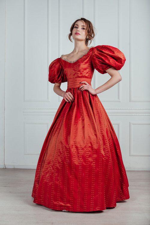 платья 19 века напрокат в москве недорого