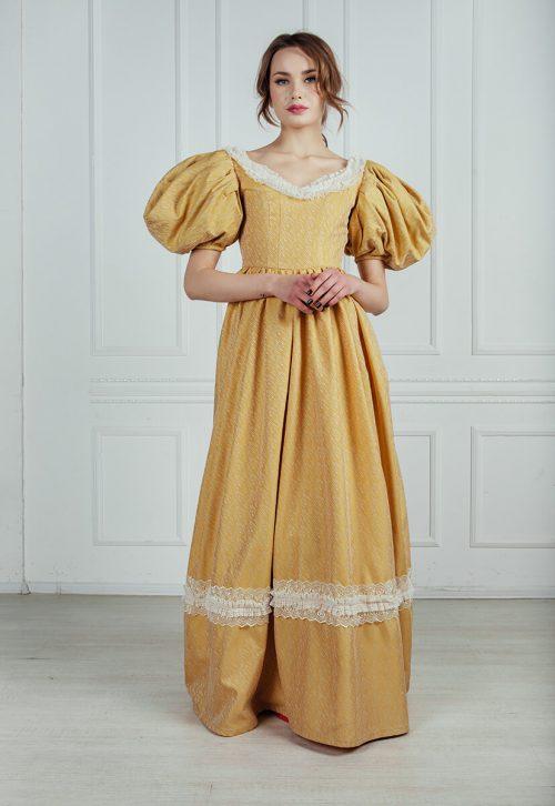 бальные платья 19 века напрокат