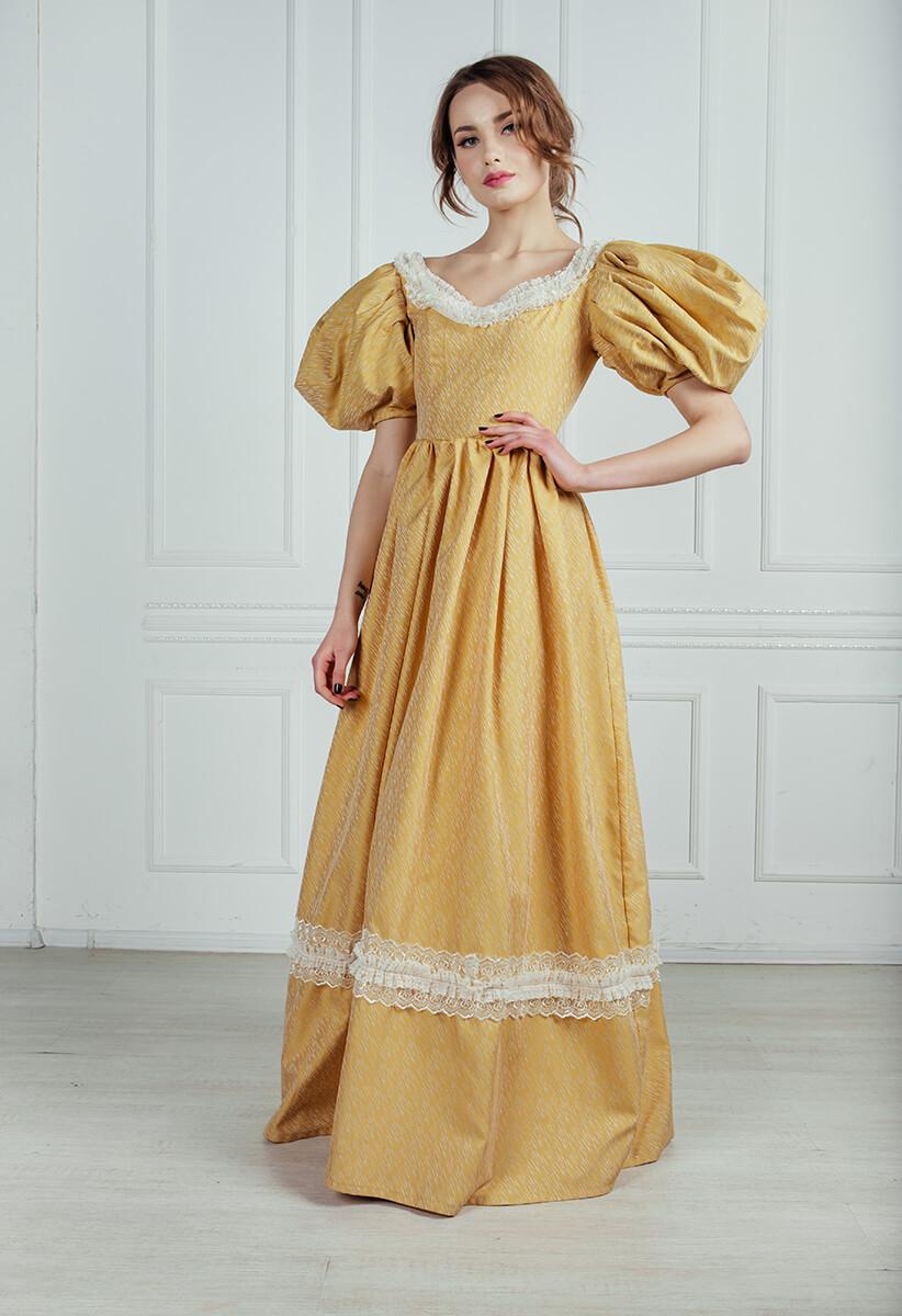 9bdf6db3f35 бальные платья 19 века напрокат