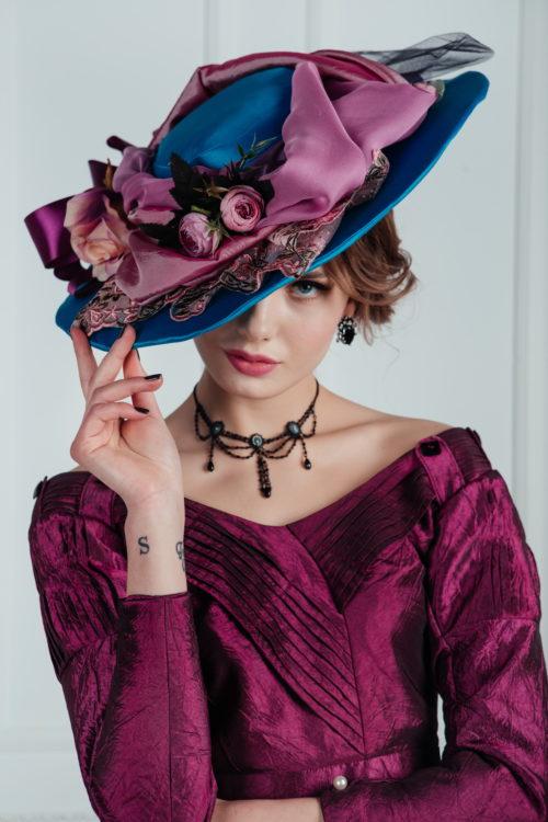 прокат женских шляпок москва