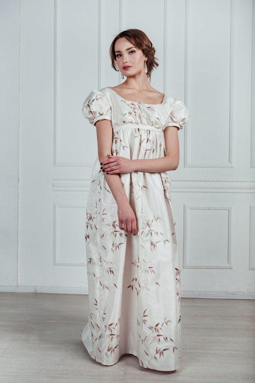Бальное платье ампир