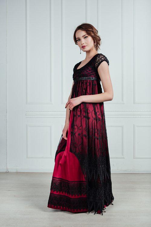 бальное платье модерн