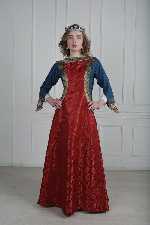 средневековые платья напрокат москва