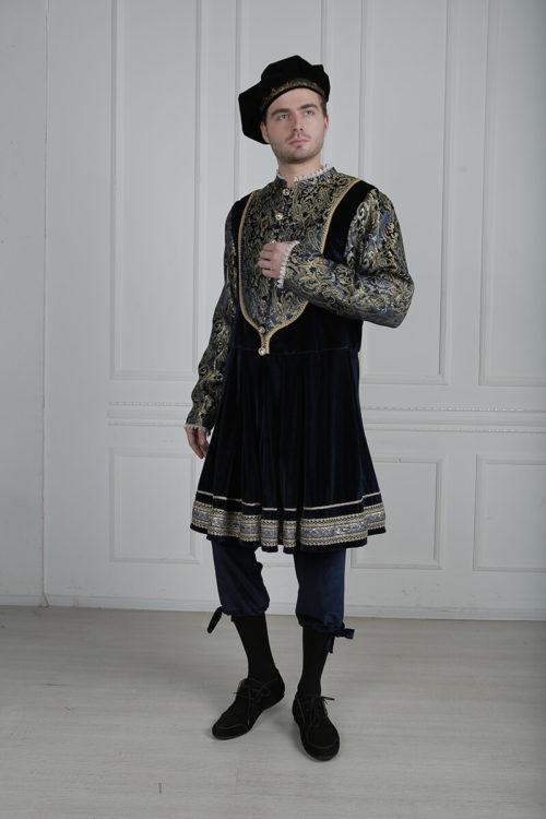 мужской костюм 16 века