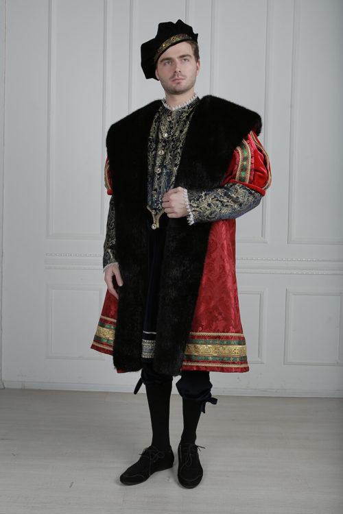 мужской костюм возрождения