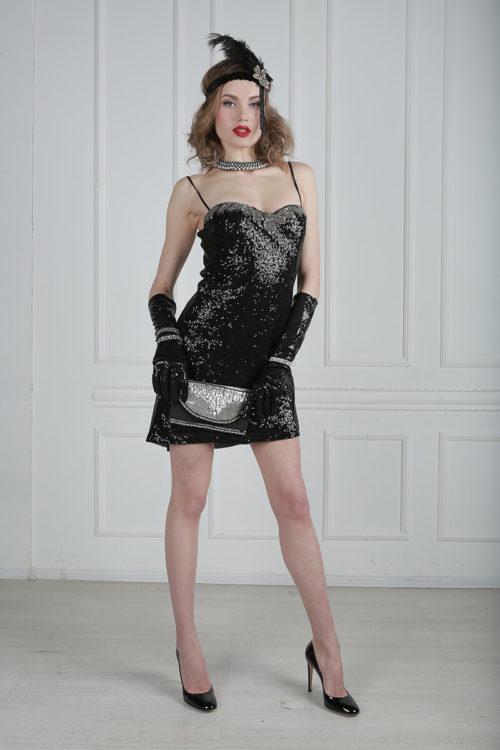 Гангстерский костюм для девушки