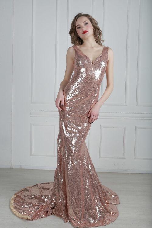 платье пайетки прокат