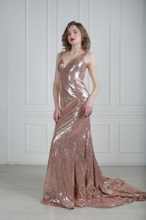 Вечернее платье в стиле Чикаго