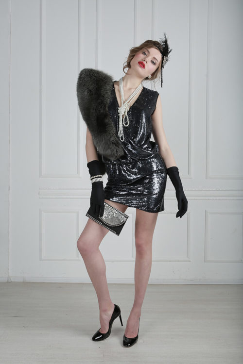 платье в стиле чикаго 30х