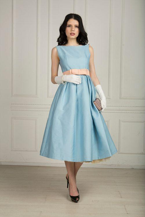 Вечернее ретро платье