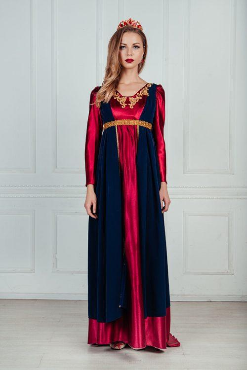 платье ампир с длинными рукавами