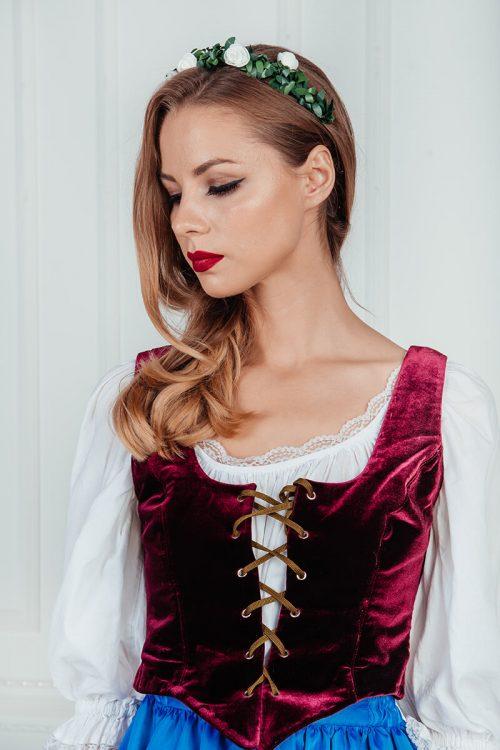 костюм цветочницы +из снежной королевы