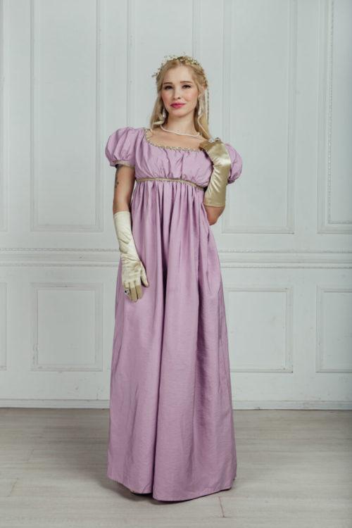 платье ампир на бал
