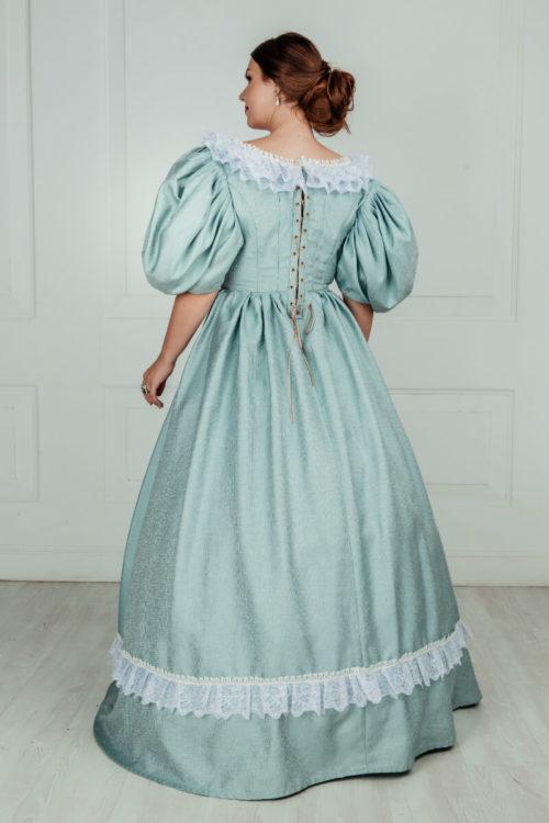 Историческое платье 19 века (1830-е)