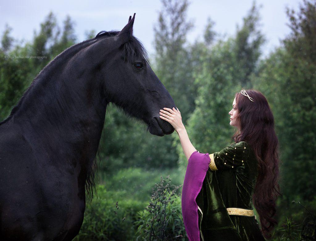 Фотосессия с лошадьми: идеи и образы.
