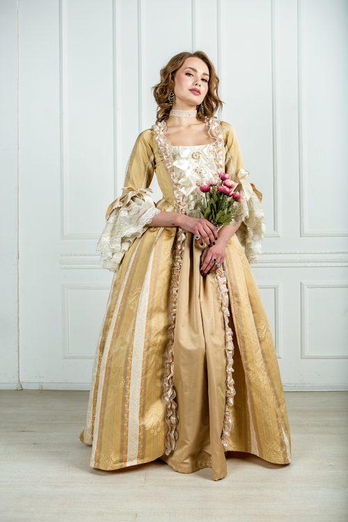 платье для бала 18 век