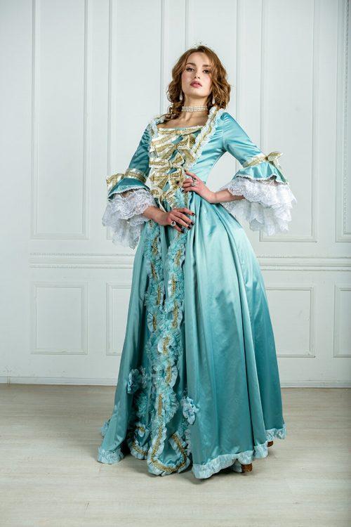 платье рококо фото