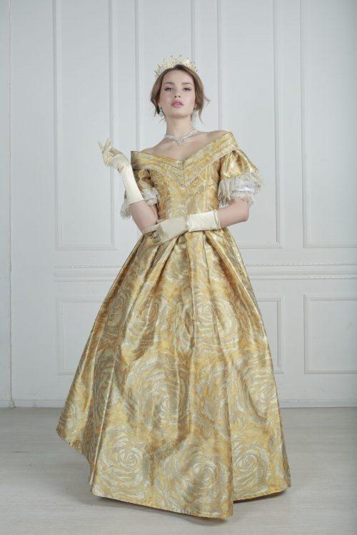 платье 19 век кринолин прокат