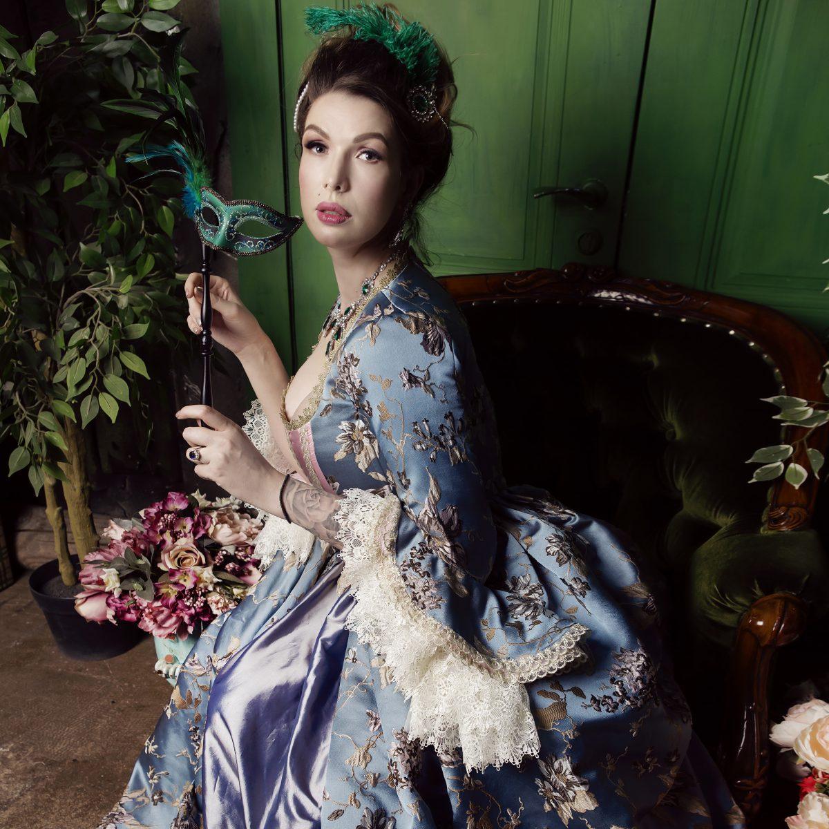 владивосток фотосессии в старинных платьях втором случае
