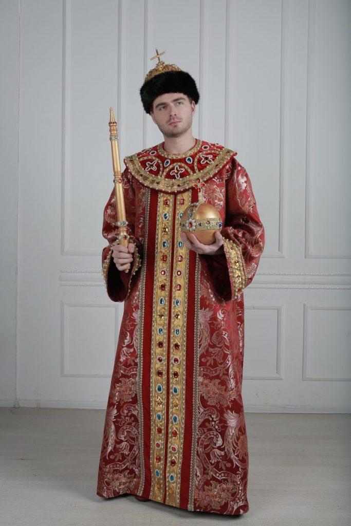 костюм русского царя