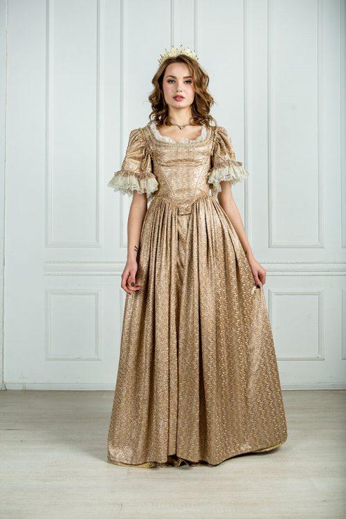 красивые платья 17 века