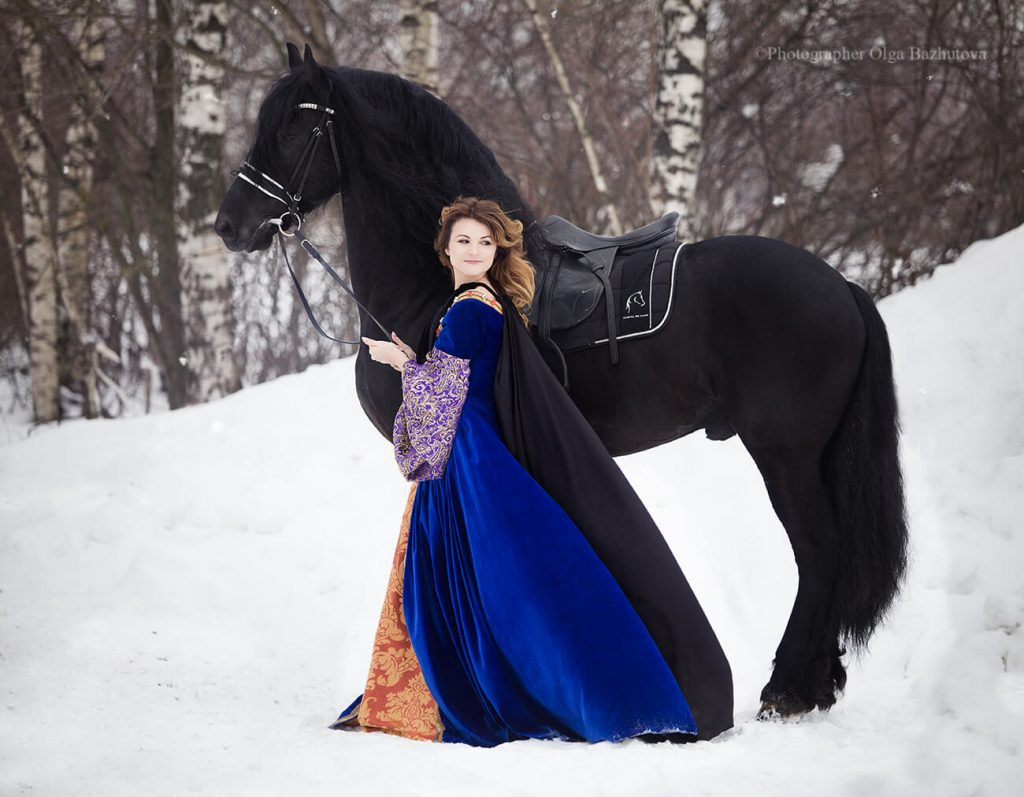 чебоксарах фотосессия на коне зимой этого