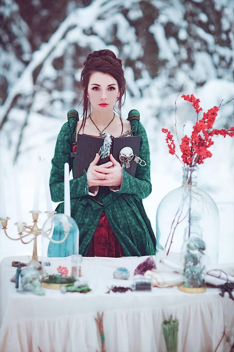 Cказочная фотосессия зимой