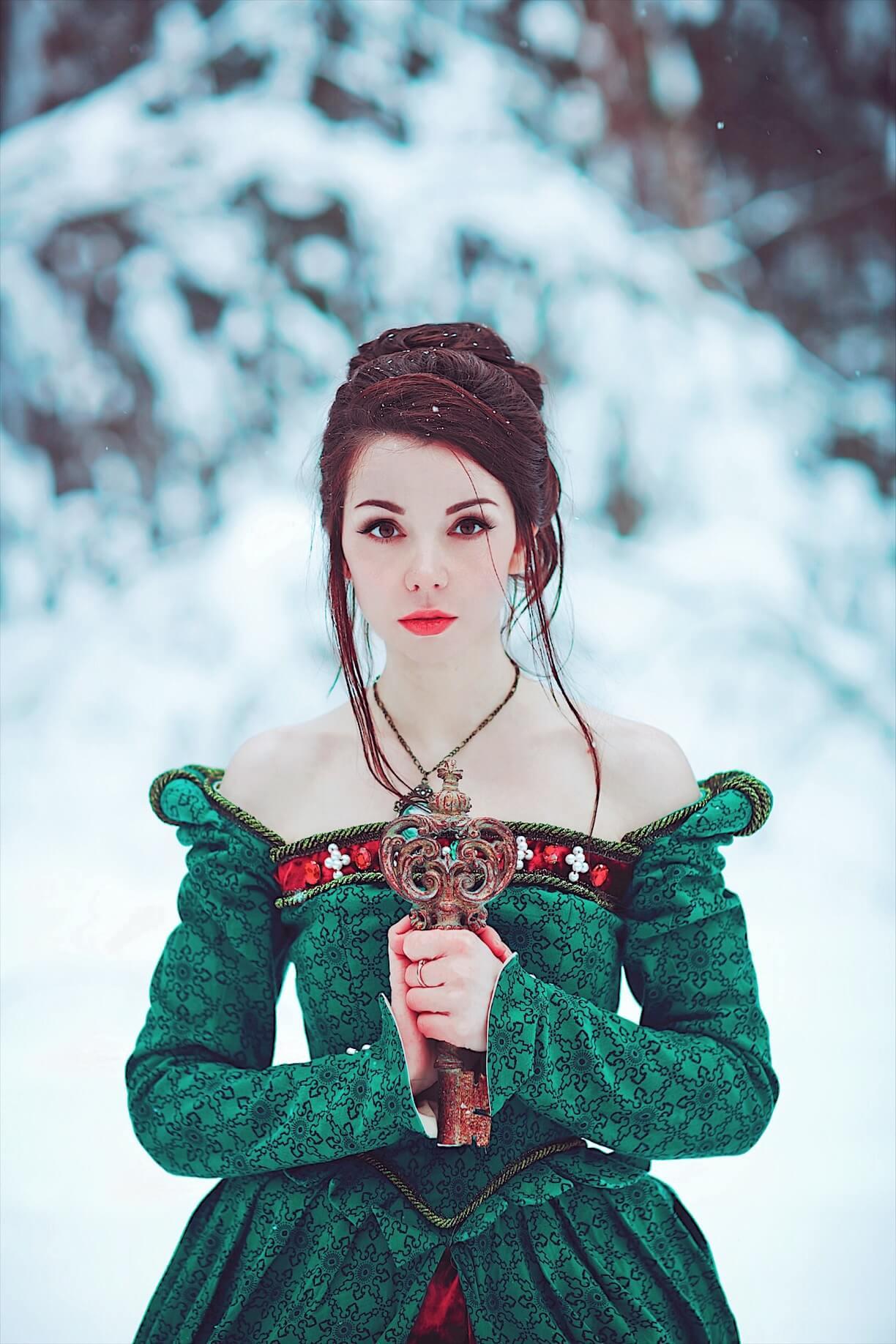 Зимние сказочные фотосессии