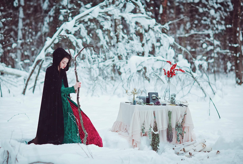 Сказочная фотосессия зимой