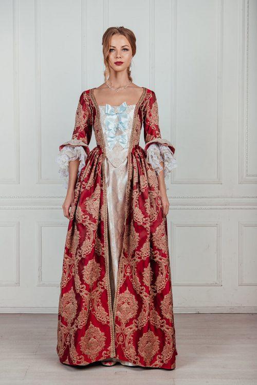 Женские платья 18 века премиум