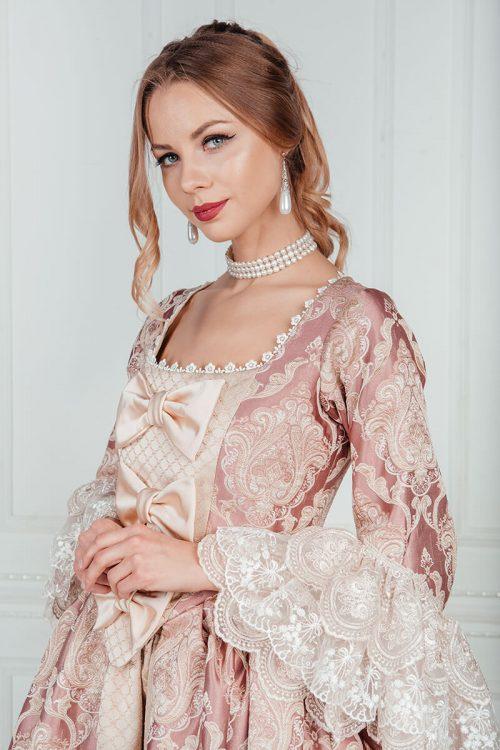 Длинные платья 18 века на прокат
